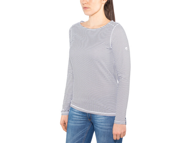 Craghoppers NosiLife Erin II Langærmet T-shirt Damer, blue navy stripe
